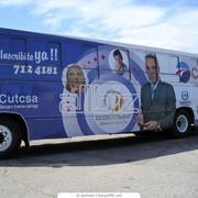 Реклама, рекламные услуги. Реклама на транспорте. фото