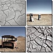 Модульная картина пустыня копія, Неизвестен фото