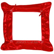 Подушка сублимационная с наволочкой (Красная) 32х32см фото