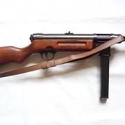 Автомат Шмайсер MP 41 С ремнем Деревянный приклад фото