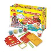 Пластилин-тесто Happy Dough Мини Бургер фото