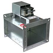 Клапан противопожарный огнезадерживающий ОЗ Электромагнитный привод ОЗ-90-2 ЭМ 400х400 фото