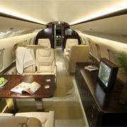 Пассажирские версии салона самолетов.Challenger 850 (2008, 12 мест) фото
