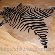Шкура коровы (стилизованная шкура зебры) Z 002 фото