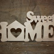Надпись Sweet Home фото