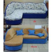 Перетяжка мягкой мебели фото