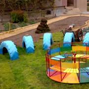 Обустройство детских площадок фото