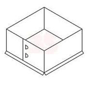 Проходник (ф200) нерж.(0,5)/нерж.(0,5) AISI - 430ВА 440х440 фото