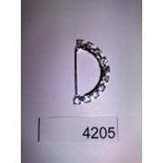 Украшение А308 полукольцо 2 5см из страз Код товара 4205 фото