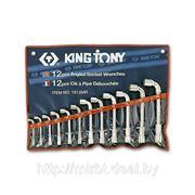Набор торцовых Г-образных ключей 12пр King Tony 1812MR фото