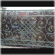 Балконное ограждение БО-006 фото