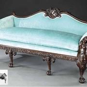 Реставрация антикварных диванов фото