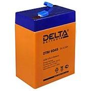 Аккумулятор Delta AGM-DTM 6V 4,5A фото