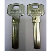 Заготовка для ключей вертикальная 00563 BAODEAN AP-4D BAO-2D 38*8,8*2,4 мм 2 паза фото
