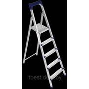 Профильная лестница-стремянка Sarayli Jackson 5+1 ст. фото