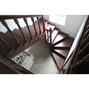 лестница начинается с забежной ступени фото