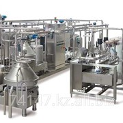 Линии и производственные узлы для молочной промышленности фото