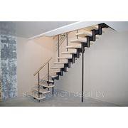 Модульная лестница для дачи фото