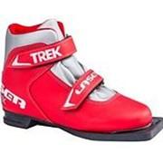 Ботинки лыжные Trek Laser NN75 New (Красный лого серебро, 38, 3.01-01) фото