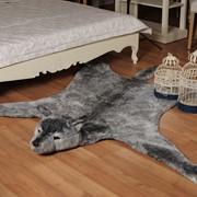 Декоративный коврик Волк. Модель П-1827 фото