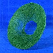 Plastiflora Каркас для букета 25см сизаль гладкий зеленый фото