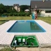 Комплексное обслуживание бассейна фото