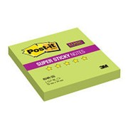 Блок-кубик Post-it Super Sticky 654R-SG, 76х76 зеленый,90л. фото