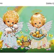 Схема вышивки бисером Ангелочки фото