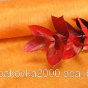 Фетр оранжевый 50 см х 10 м фото