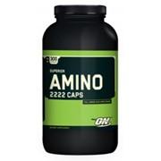 Optimum Nutrition Superior Amino 2222, 150 капсул фото