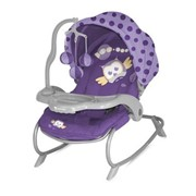 Детский шезлонг Bertoni (Lorelli) Dream Time Violet Baby Owl фото