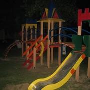 Площадка детская игрова фото