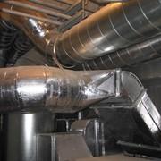 Монтаж систем отопления, водоснабжения, канализации и вентиляции с изготовлением конструкций воздуховодов и их капитальный ремонт. фото