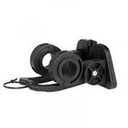 Крепеж-адаптер для быстросъемной корзины и сумки на руль 22,2-31,8мм черный AUTHOR фото