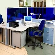 Перегородки офисные мобильные в Алматы фото