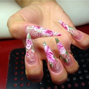 Наращивание ногтей: роспись, китайская роспись, лепка, Наращивание ногтей: роспись, китайская роспись, лепка в городе Торез фото
