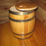 Бочки под винные пакеты, деревянная тара для винных пакетов, муляж деревянной бочки под пакет фото
