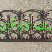 Кованые оградки в Алматы фото