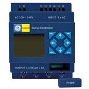 Контроллер (ПЛК, PLC) Durus, питание 85 - 264 VAC, 6 входов AC / 4 выхода (реле 8 A), не расширяемый, без диспелея/клавиатуры GE Fanuc C210NAR010 фото