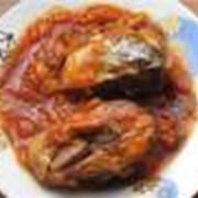 Консервы рыбные в томатном соусе фото