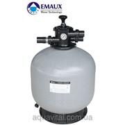 Фильтр песочный для бассейнов Emaux V500; 11.1 м3/ч; верхнее подключение фото