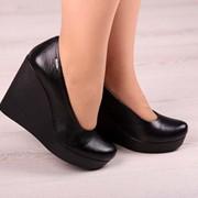 Женские туфли на платформе в моделях. ДС-19-0618 фото