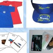 Печать логотипа на пакетах, футболках, кепках, ручках. Производим нанесение изображения. фото