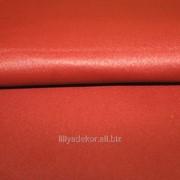 Кожа одежная Стрейч оранжевый фото