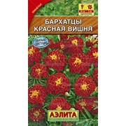 Семена Бархатцы Красная вишня отклоненные Ц/П фото