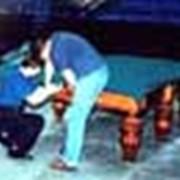 Гарантийный и послегарантийный ремонт бильярдных столов. фото