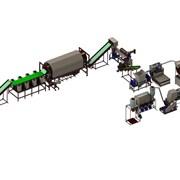 Комплекс вторичной переработки полигонной ПЭТ  фото