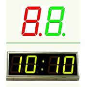 Электронные часы на индикаторах фото