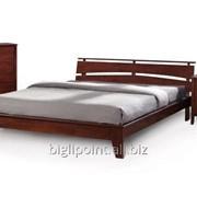 Кровать Шарлотта каштан фото