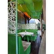 Коллекции ротанговой плетеной мебели, уличная мебель из искусственного ротанга фото